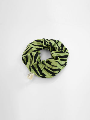 IGWT - Scrunchie / Green Zebra