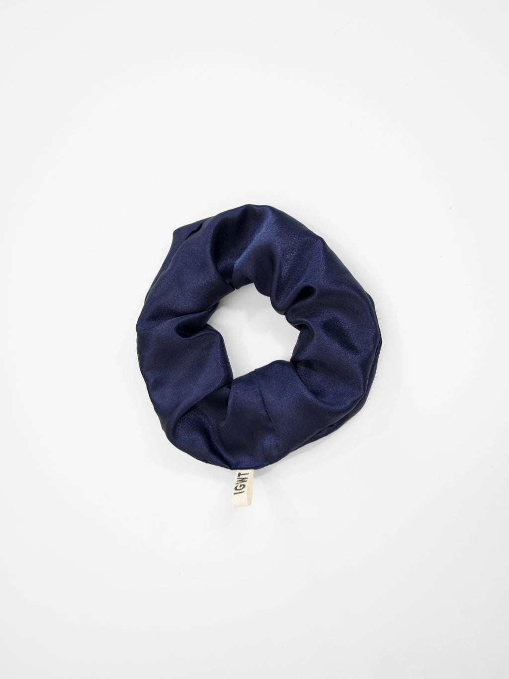 IGWT - Scrunchie / Midnight Satin