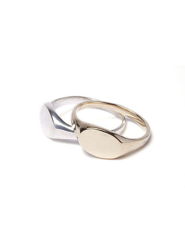 Signet Ring / 14Kt Yellow Gold