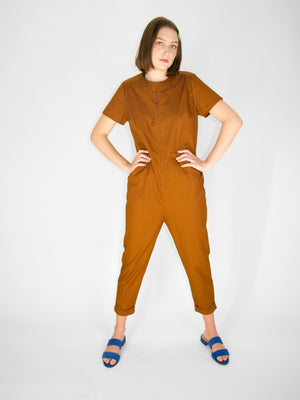Simon Jumpsuit / Clay