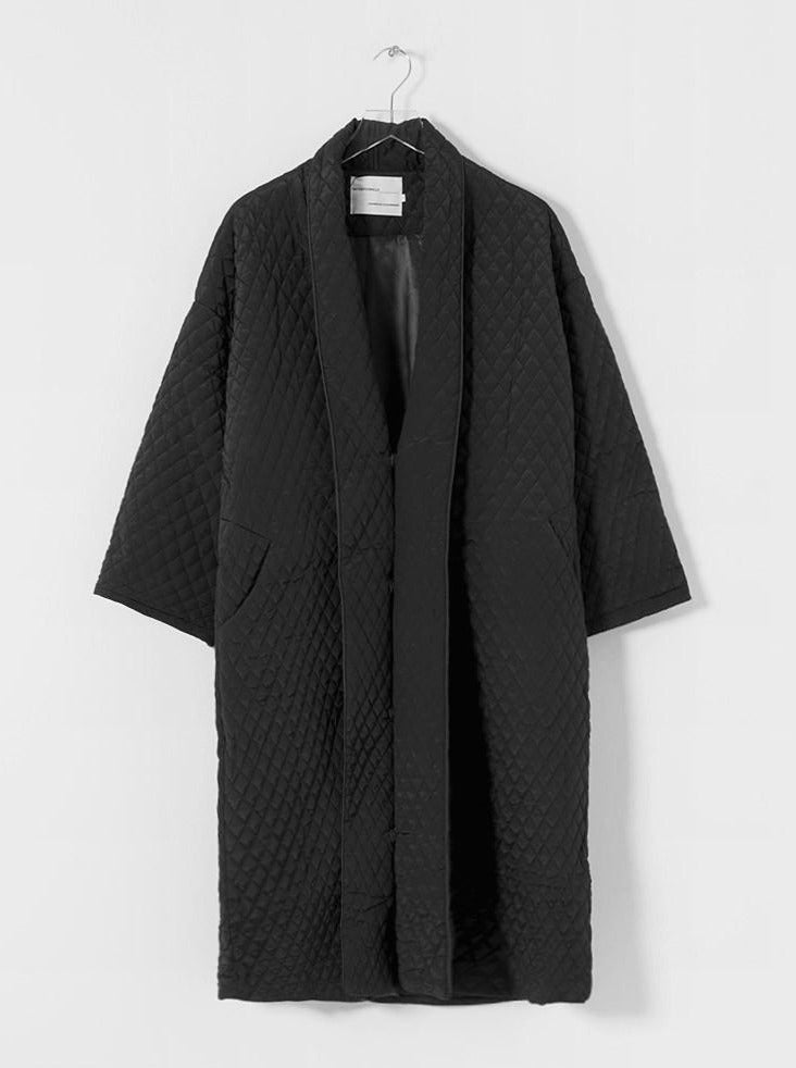 Intentionally Blank - SINCLAIRE House Coat / Black