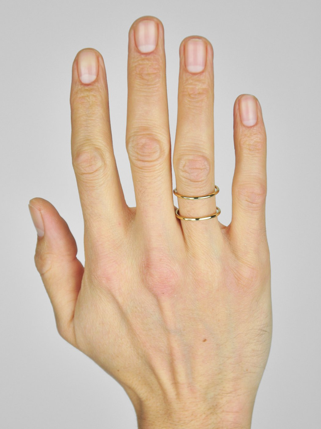 Spacer Ring / 14K Yellow Gold