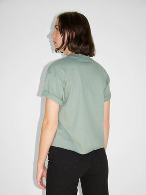 IGWT - Cropped Crew Tee / Spruce