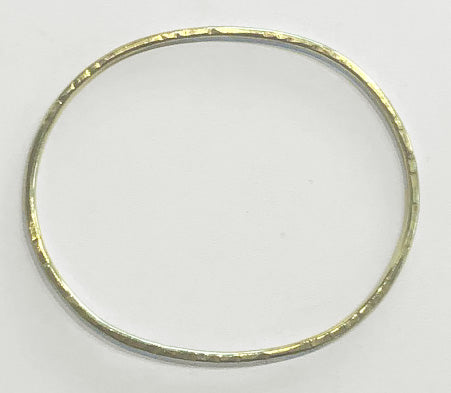 Sunday Bangle / Brass