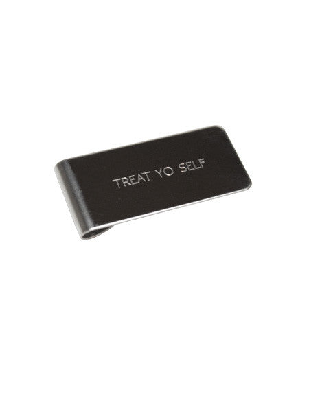 IGWT - Money Clip / Treat Yo Self / Silver