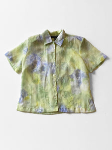 IGWT Vintage - Crepe Button Down / Watercolor