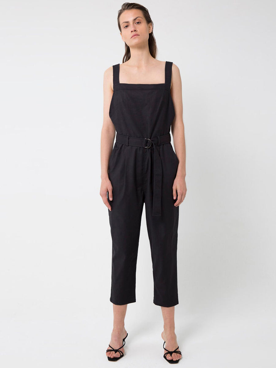 Third Form - Workers Jumpsuit / Black