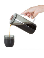 Yield - 850mL Glass French Press / Amber