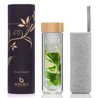 Infuser, packaging & sleeve
