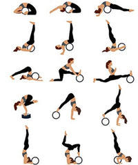 More Yoga Wheel Positions