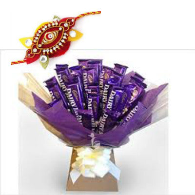 Chocolate Rakhi Wishes