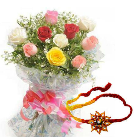 Mix Colors Rakhi