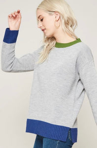 Queen Sweater (Grey)