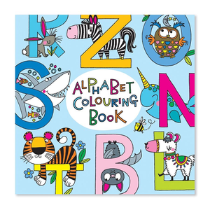 Square Coloring Book - Alphabet
