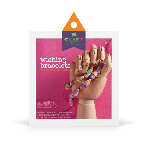 CRAFT-TASTIC WISHING BRACELETS KIT