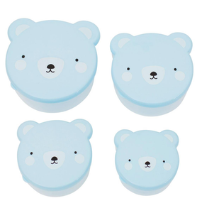 SNACK BOX: BEAR BLUE