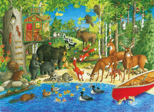 Ravensburger 200PCS Woodland Friends