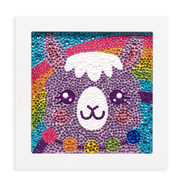 RAZZLE DAZZLE D.I.Y. GEM ART KIT: LOVELY LLAMA