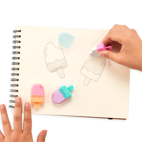 ICY POP ERASER 2.0 - SET OF 3