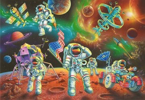 Ravensburger 35PCS Moon Landing