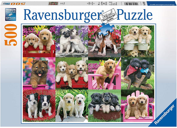 Ravensburger 500PCS  Puppy Pals