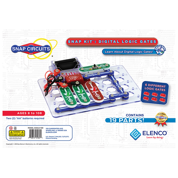 Snap Circuits® Snap Circuits Digital Logic Gates