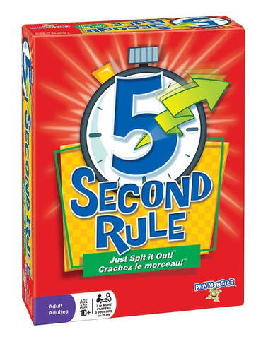 5 Second Rule (Bilingual)