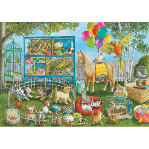 35 Piece Puzzles Pet Fair Fun