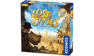 LOST CITIES - CARD GAME - WITH 6TH EXPEDITION