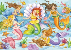 Ravensburger 35PCS Queens of the Ocean