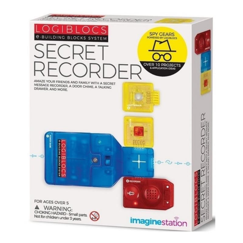 LOGIBLOCS SECRET RECORDER