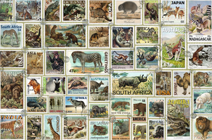 Ravensburger 3000PCS Animal Stamps