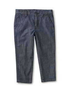 Slim Chambray Chino