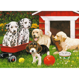 Ravensburger 60PCS Puppy Party