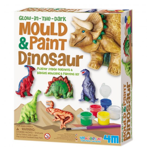 4M Mould & Paint Dinosaurs