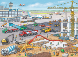 Ravensburger 100 PCS Construction at the Airport