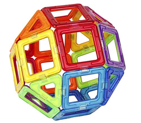 Magformers Rainbow Set (40 pcs)