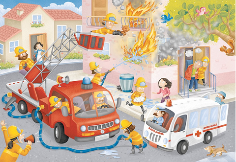 Ravensburger 60PCS Firefighter Rescue!