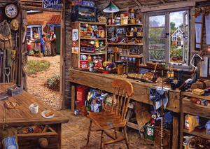 Ravensburger 500PCS Large 500PCS Dad's Shed