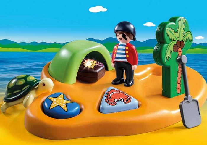 Playmobil 123 Pirate Island