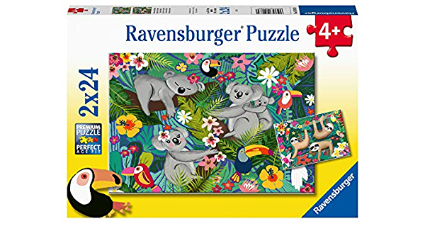 Copy of Ravensburger 2X24 Vibrance Under the Sea