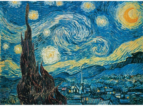 Clementoni 500 PCS VAN GOGH - STARRY NIGHT