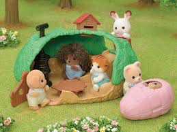 Calico Critters Baby Hedgehog Hideout