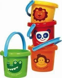 Gowi Small Bucket Asst Colors