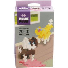 Plus Plus Mini Pastel Dogs - 70pcs