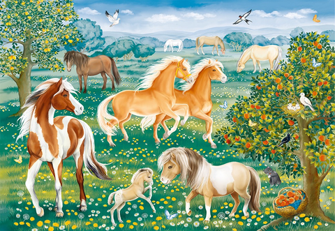 Ravensburger 60PCS Mustang Meadow