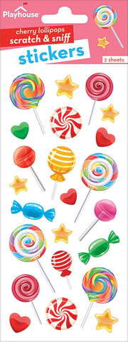 LOLLIPOPS SCRATCH & SNIFF -CHERRY
