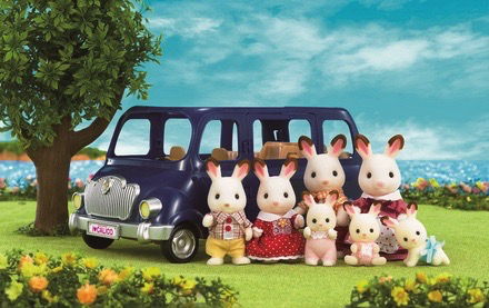 Calico Critters BL Seven Seater