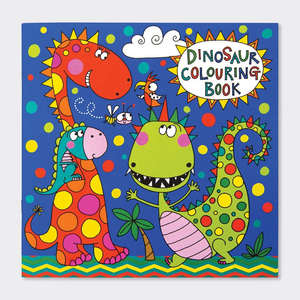 Square Coloring Book - Dinosaur - 8x8