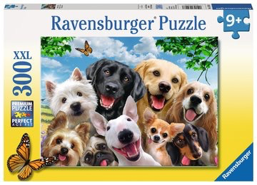 Ravensburger 300PCS Delighted Dogs